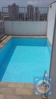 Cobertura Com 4 Dormitórios À Venda, 305 M² Por R$ 1.200.000,00 - Aparecida - Santos/sp - Co0118