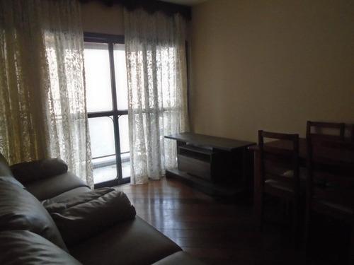 Apartamento Para Alugar Por R$ 2.499,98/mês - Boqueirão - Santos/sp - Ap3983