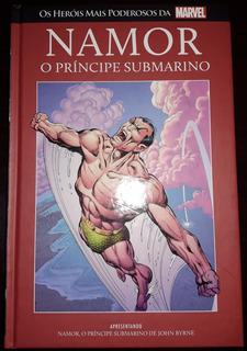 Livro Marvel Heroes Ed. 20 - Namor