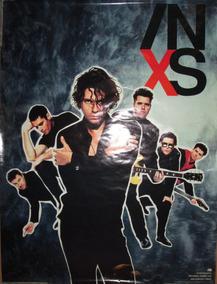 Poster Banda Grupo Inxs X Album Importado Raro