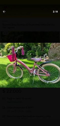 Vendo Bicicleta De Aluminio Rodado 20 Impecable