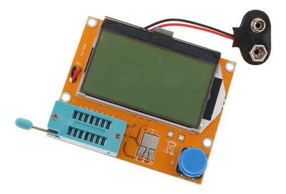 Testador Medidor Testador Transistor Lcr -t4, Exibição 128