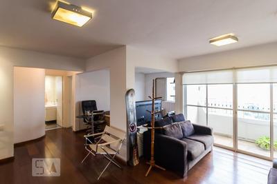 Apartamento No 7º Andar Mobiliado Com 2 Dormitórios E 2 Garagens - Id: 892908125 - 208125