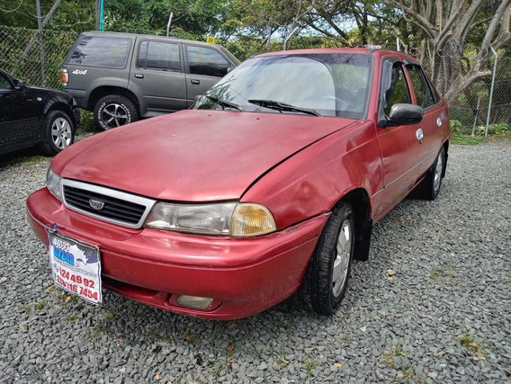 Daewoo Cielo Motor 1.5 1998 Rojo 4 Puertas