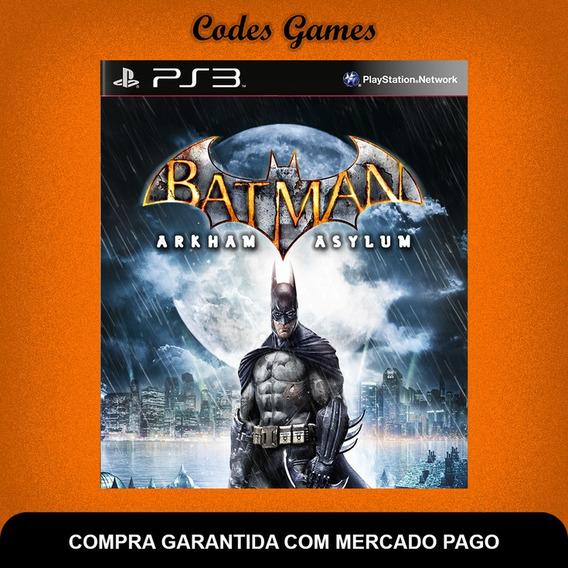 Batman Arkham Asylum - Ps3 - Pronta Entrega