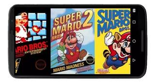 Juegos Super Mario Bros 1, 2 & 3 Nes Pc/android Windows 7/10