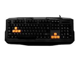 Teclado Gamer Kg-03 Bk C3tech, Orange