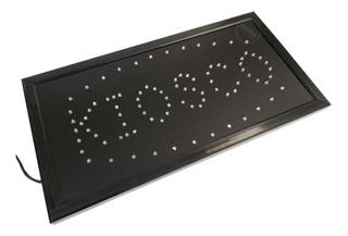 Cartel Led Luminoso Kiosko Cuadrado 220v 48cm X 24cm