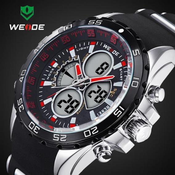 Relógio Masculino Weide Anadigi Wh-1103 Novo