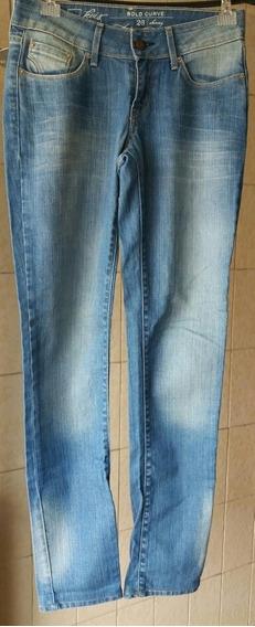 Calça Jeans Levis Feminina Tamanho 36 /26 Brecho Rainhos