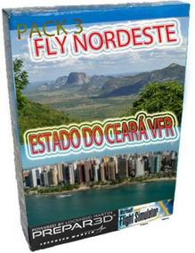 Fly Nordeste Cenáry Estado Ceará+fortaleza Foto Real Fsx,p3d