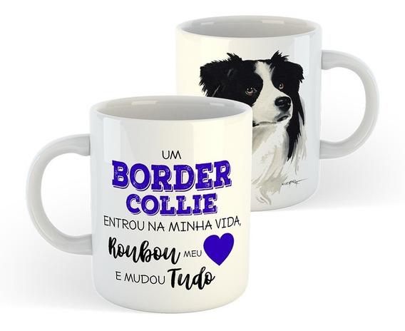 Caneca Cachorros - Border Collie - Cães De Raça