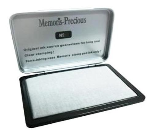 Almohadilla Para Sello N°3 Envase Metalico Memories