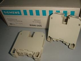 Conector 35mm Siemens 8wa1205 Kit 3pçs