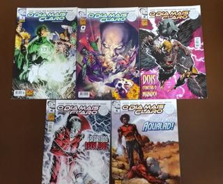 Lanterna Verde O Dia Mais Claro 0,1,2,3,4,5 Hq Dc Comics
