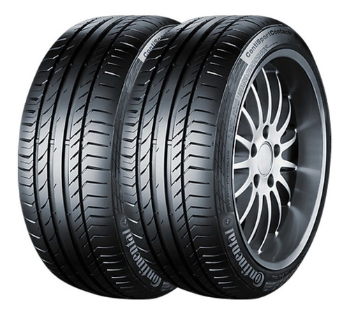 Kit X2 285/45 R19 Continental Sport Contact 5 Xl Runflat