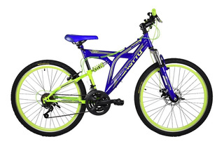 Bicicleta Benotto Rush R26 Suspensión/freno Disco