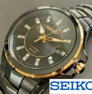 Reloj Hombre Reloj Seiko Coutura Solar