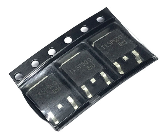 3 Unidades Tk5p50d Tk 5p50 D Mosfet Canal N 500v 5a To252