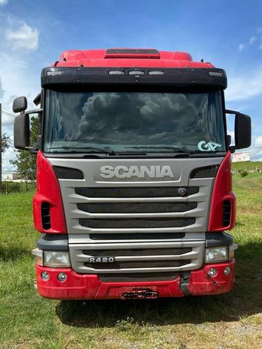 Scania R 420 Vermelho 6x4 La Bug Leve