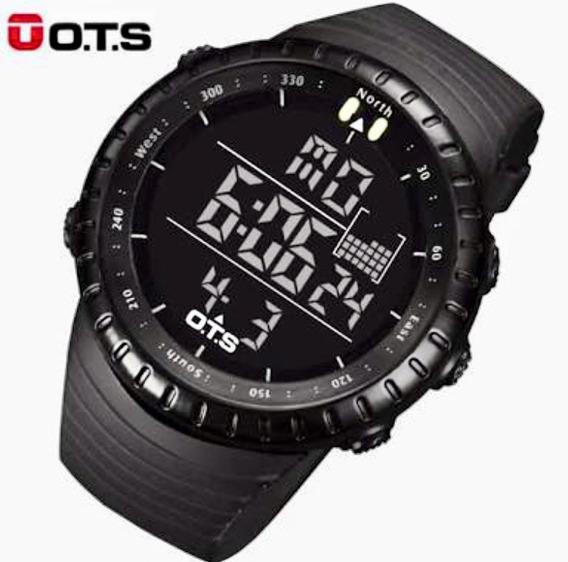 Relógio Ots 7005 A Prova D Água Militar Tático 50 Metros