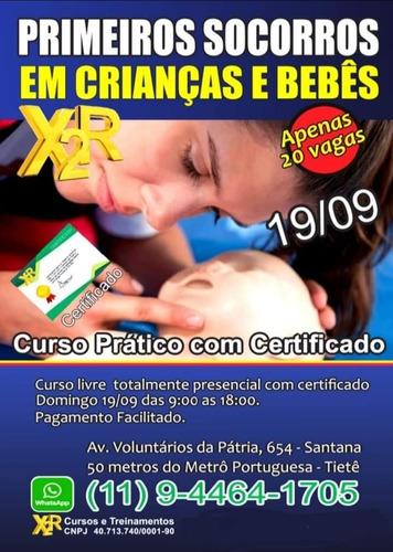 Imagem 1 de 2 de Curso De Primeiros-socorros Em Crianças E Bebês