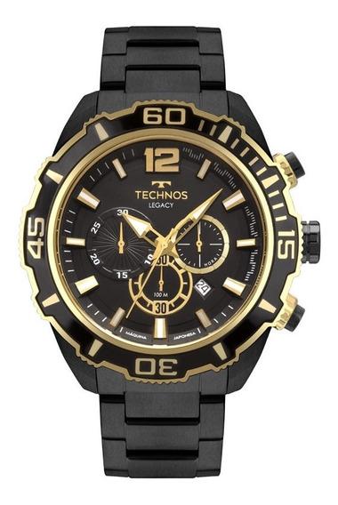 Relógio De Pulso Technos Legacy Masculino Js26as/4p - Preto