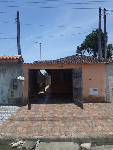 Casa Térrea À Venda Em Mongaguá No Balneário Regina Maria - Ca00727 - 34794289