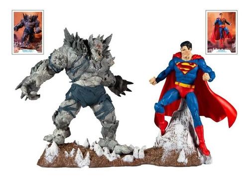 Imagen 1 de 2 de Devastator Vs Superman Dc Multiverse Mcfarlane Toys