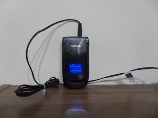 Celular Nokia 2660 Funcionado Com Carregador Op Claro