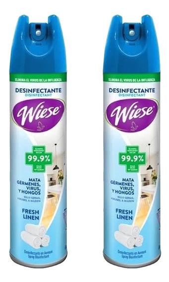 2 Desinfectante Aerosol Spray Antibacterial Wiese Virus /i