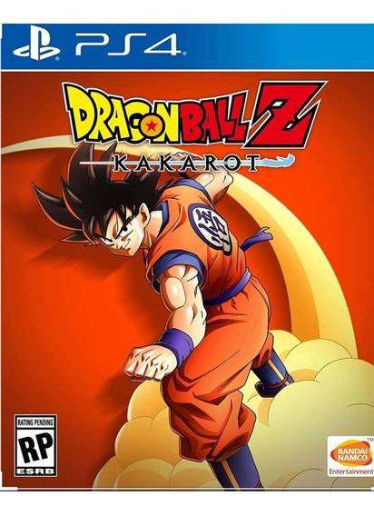 Dragon Ball Kakarot Ps4 Físico Dlc Incluído Local