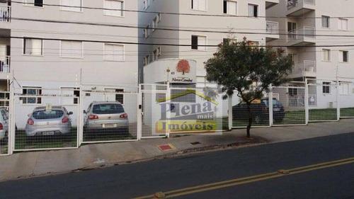 Apartamento Com 3 Dormitórios À Venda, 70 M² Por R$ 240.000 - Jardim Novo Cambui - Hortolândia/sp - Ap0969