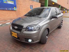 Chevrolet Aveo Emotion Mt 1600 Cc Sa 1ab