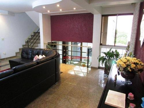 Sobrado Com 3 Dormitórios À Venda, 180 M² Por R$ 800.000,00 - Jardim Patente Novo - São Paulo/sp - So0816