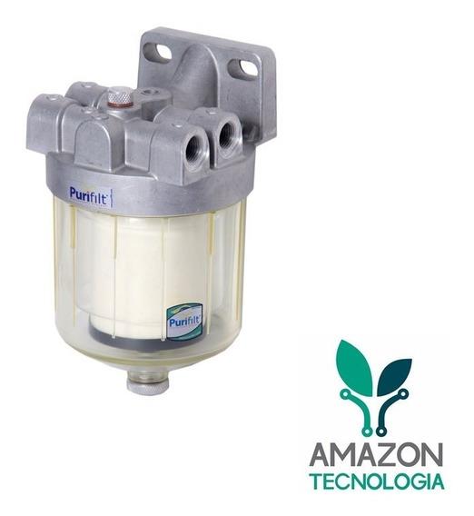 Filtro Racor Retira 99,99% De Água Diesel Purifilt P150r
