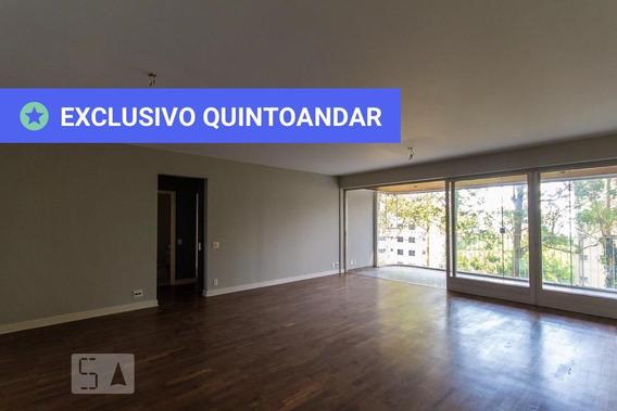 Apartamento No 3º Andar Com 4 Dormitórios E 2 Garagens - Id: 892803356 - 103356