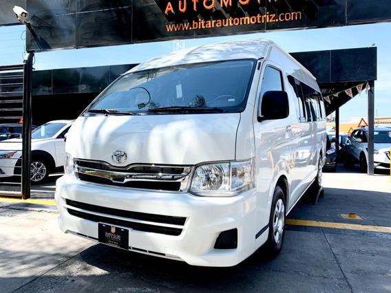 Toyota Hiace 2013 ¡¡lista Para Trabajo!!