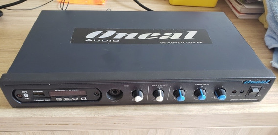Amplificador Oneal Om2000ec Usb Sd Bluetooth Radio