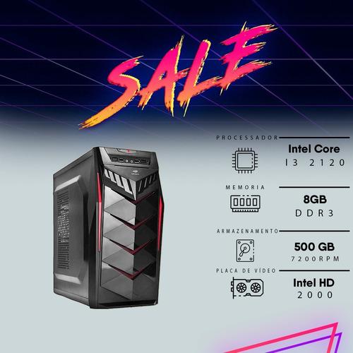 Computador Freefire I3 8gb Hd500