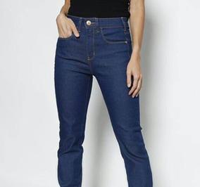 Calça Feminina Jeans Cintura Alta Skinny Triton Promoção