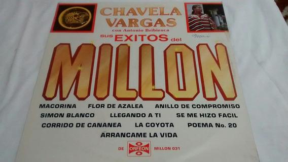 Lp Chavela Vargas Éxitos Del Millón .