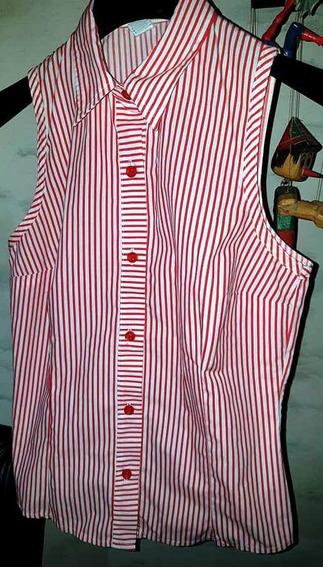 Camisa Rayada Musculosa
