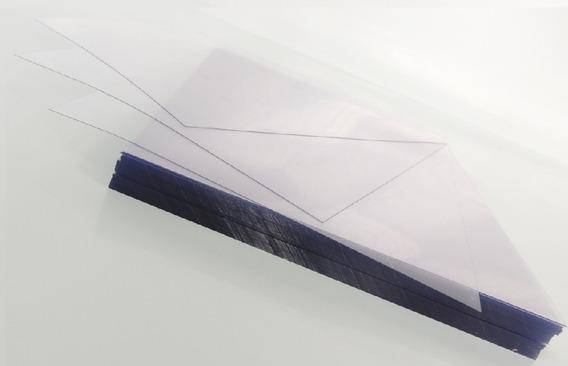 Acetato Cristal Liso - 0.20mm - Ofício - Pcte C/ 100 Folhas