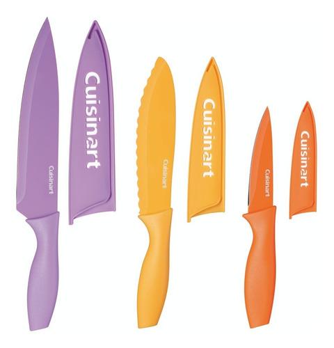 Set De Cuchillos De Color Cuisinart C55cns-6pcs