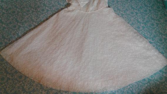 Vestido Blanco Bordado Comunion Bautismo
