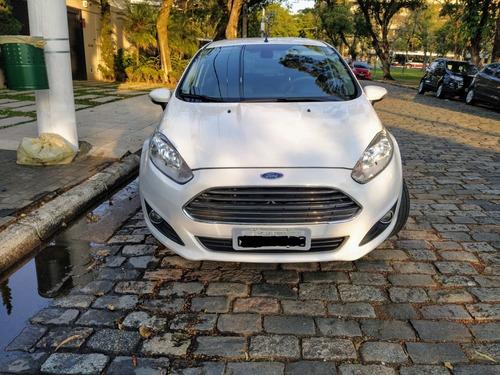 Imagem 1 de 8 de Ford New Fiesta 16/16 Titanium Top De Linha Automático