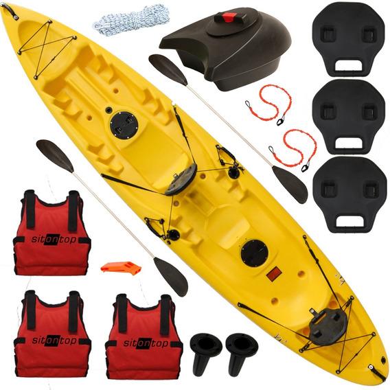 Kayak Sitontop Kai3 Combo 3 + Cajón / Estable / Navegas Seco