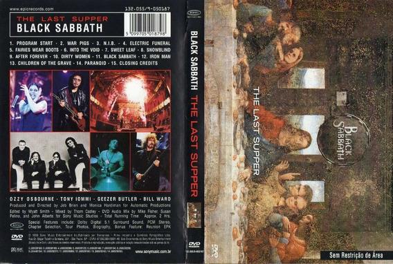 Black Sabbath Last Supper Dvd - Documentário Frete Gratis