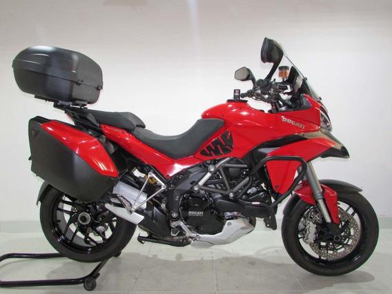 Ducati Multistrada 1200s Touring 2014 Vermelha
